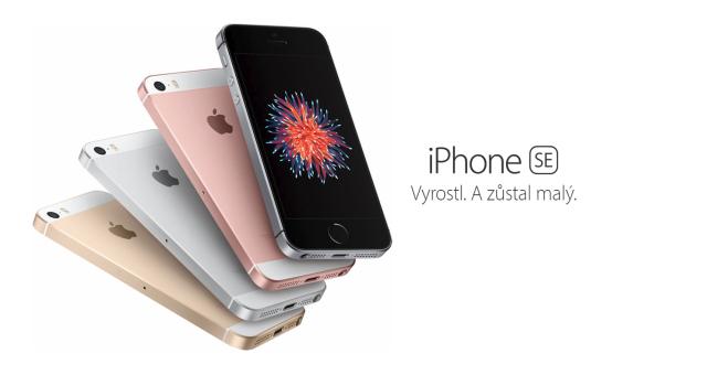 Byly spuštěny předobjednávky iPhonu SE v ČR