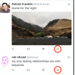 Twitter přidal tlačítko pro přímé zprávy ke každému tweetu do timelinu hlavní stránky