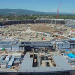 VIDEO: Jak pokračuje stavba Apple Campus 2