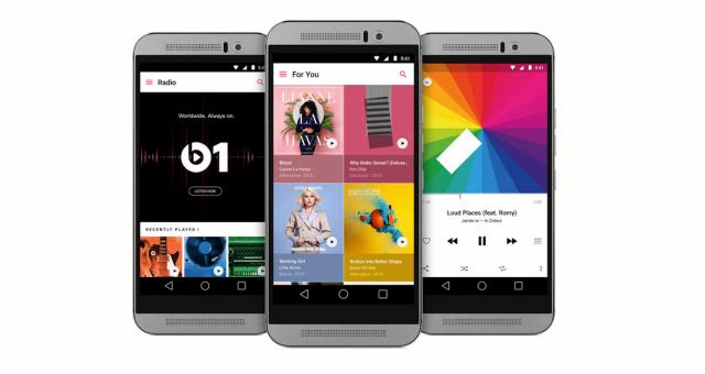 Aplikace Apple Music pro Android dostala podporu videí a rodinného plánu