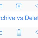 Jak zablokovat archivování emailů u vašeho iPhonu