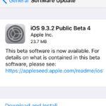 Apple vydal nové beta verze iOS, tvOS a OS X