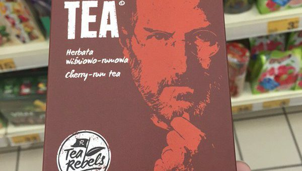 V Polsku najdete leccos. Třeba čaj Steve Jobs