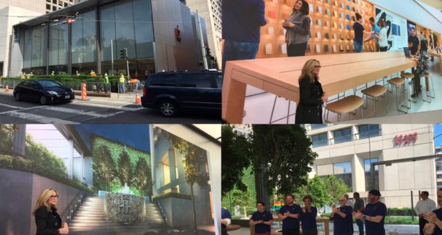 Skleněné schody sanfranciského Apple Storu stály jeden milion dolarů