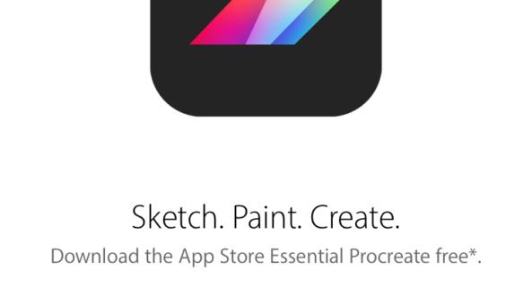 Úžasná aplikace na kreslení, Procreate, je nyní zdarma. Stahujte!