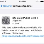 Apple publikoval druhé beta verze iOS 9.3.3 a OS X El Capitan 10.11.6 pro veřejnost