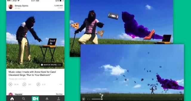 Začne aplikace Vine podporovat delší videa?