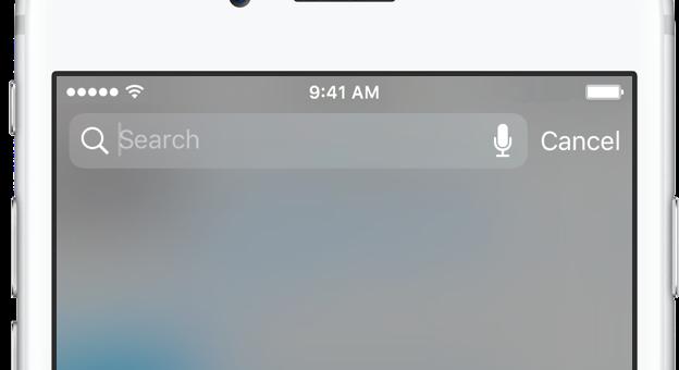ViOS 10 se do vyhledávání Spotlight dostanete zjakékoli aplikace