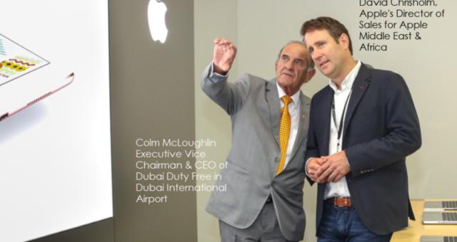 Byly otevřeny dva nové Apple obchody na letišti vDubaji