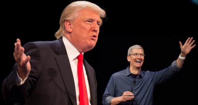 Apple zaujal postoj proti americkému kandidátovi na prezidenta Donaldovi Trumpovi