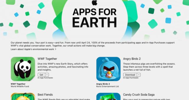 Apple vybral osm milionů dolarů pro World Wildlife Fund