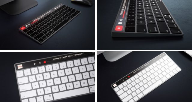 KONCEPT: Magic Keyboard s OLED klávesami