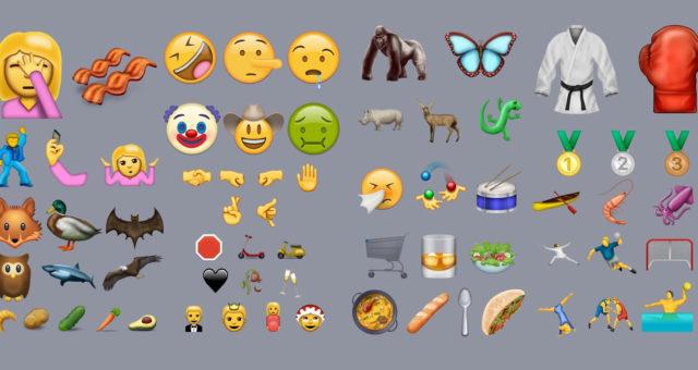 Video: iOS 10 bude obsahovat 72 nových emotikon