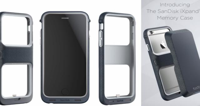 SanDisk vydal kryt pro iPhone, který dokáže rozšířit jeho paměť