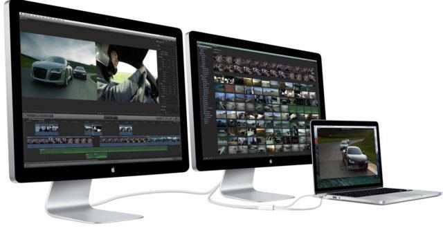 Apple ukončil výrobu Thunderbolt Displaye