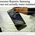 Samsung Galaxy S7 má být voděodolný. Testy ukazují, že není