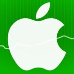 Hodnota akcií Applu vystoupila po oznámení finančních výsledků na 103 dolarů