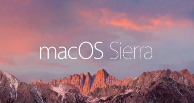 Apple vydal nové beta verze macOS 10.12