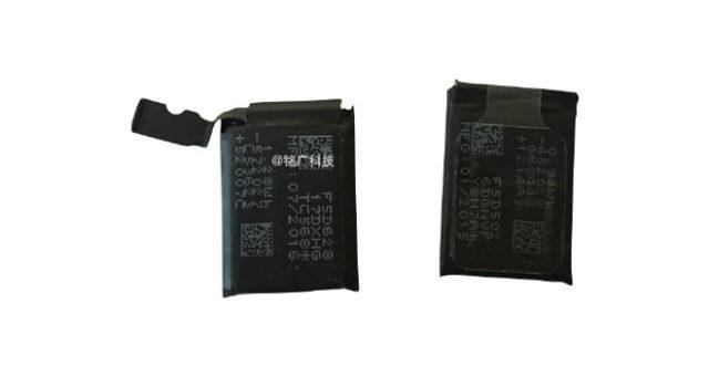 Druhá generace Apple Watch bude obsahovat baterii s větší kapacitou
