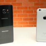 iPhone 6s je při reálném provozu znatelně rychlejší než Samsung Galaxy Note 7