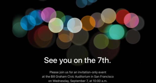 Apple rozeslal pozvánky na akci, kde odhalí iPhone 7