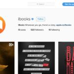 Apple spustil Instagram účet pro iBooks