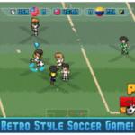 Retro fotbalová hra Pixel Cup Soccer 16 je zdarma