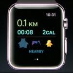 Apple představil hru Pokemon GO pro Apple Watch