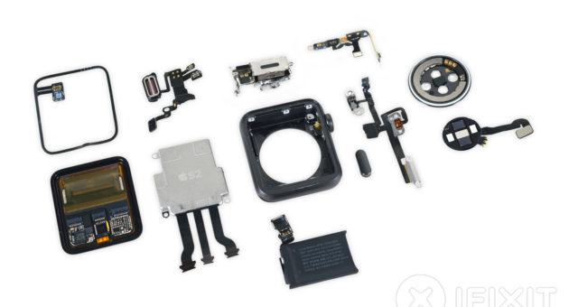 Co skrývá vnitřek Apple Watch Series 2?