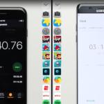 iPhone 7 je v běžném provozu mnohem rychlejší než Samsung Galaxy Note 7