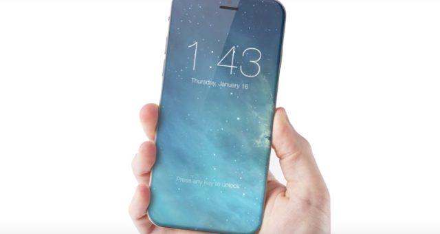 iPhone 8 bude mít skleněnou přední i zadní část