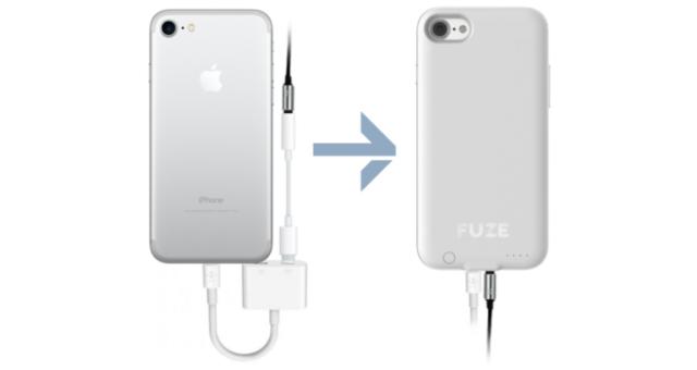 Tento obal na iPhone 7 přidává zpátky jack na sluchátka