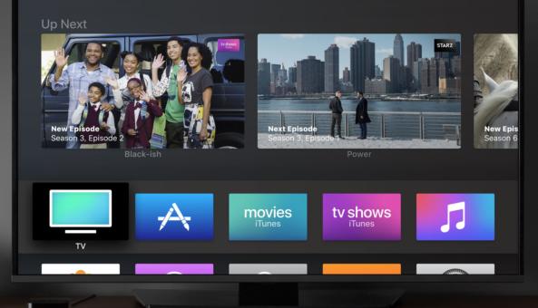 Apple vydal novou aplikaci TV