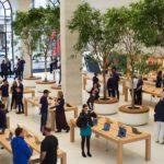 Fotogalerie: V Londýně bude otevřen zrekonstruovaný Apple Store