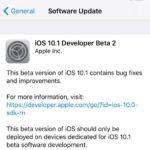 Apple zveřejnil druhou beta verzi iOS 10.1 pro vývojáře