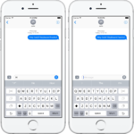 Na iOS bude brzy klávesnice pro ovládání jednou rukou, odhalil kód