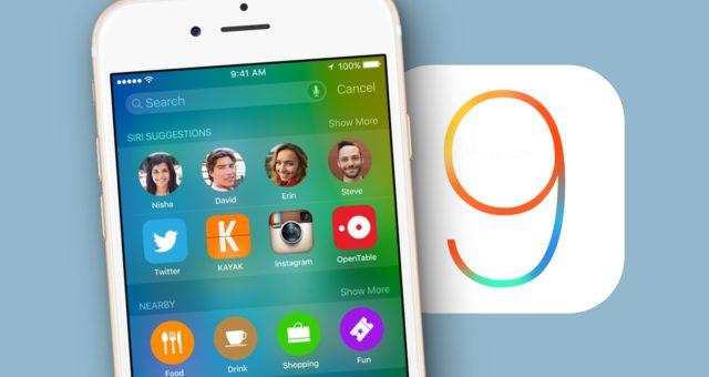 Již není možné vrátit se na iOS 9