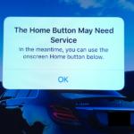 iOS 10 upozorňuje uživatele na poškozené Home button