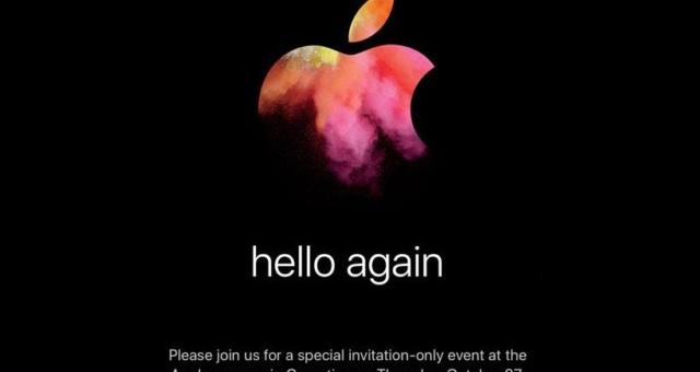 Potvrzeno: Apple bude 27. října pořádat konferenci