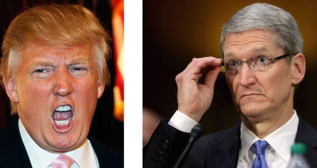 Donald Trump vzkázal Applu, že má své produkty začít vyrábět v USA