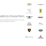 CarPlay již podporuje přes 200 různých automobilů