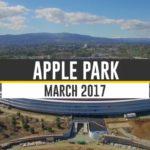 Jak postupuje stavba Apple Parku? Podívejte se na nové záběry