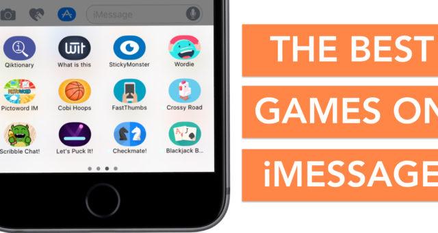 Nejlepší iMessage hry