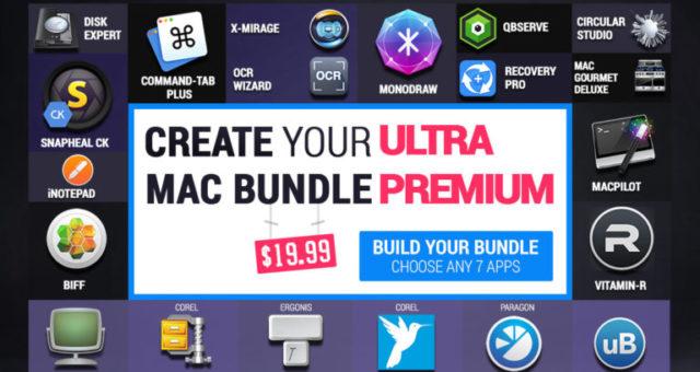 Nový set aplikací pro Mac: 7 ze 49 aplikací jen za $19.99