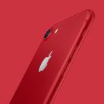 Apple představil speciální edici iPhone 7/7 Plus (PRODUCT)RED
