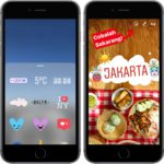 Instagram představil geostickers uvnitř Stories