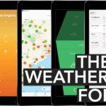 Nejlepší aplikace počasí pro iPad