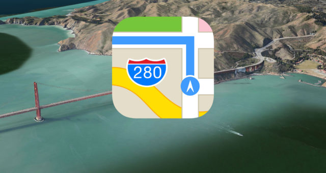 Jak využít kompas u Apple Map
