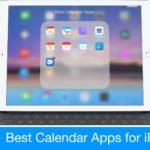 Nejlepší aplikace kalendáře pro iPad