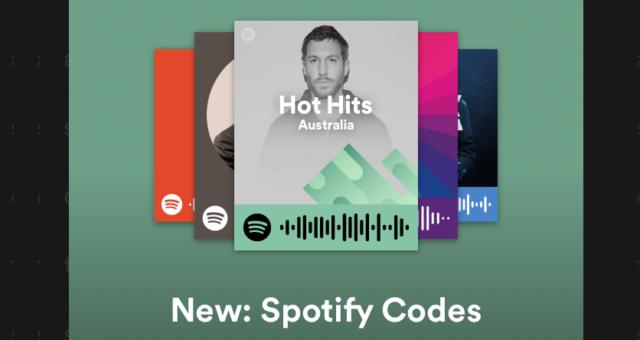 """Spotify představil """"Spotify Codes"""" pro jednoduché sdílení a vyhledávání hudby"""